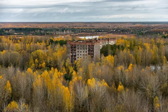 La desolazione della zona di esclusione di Chernobyl