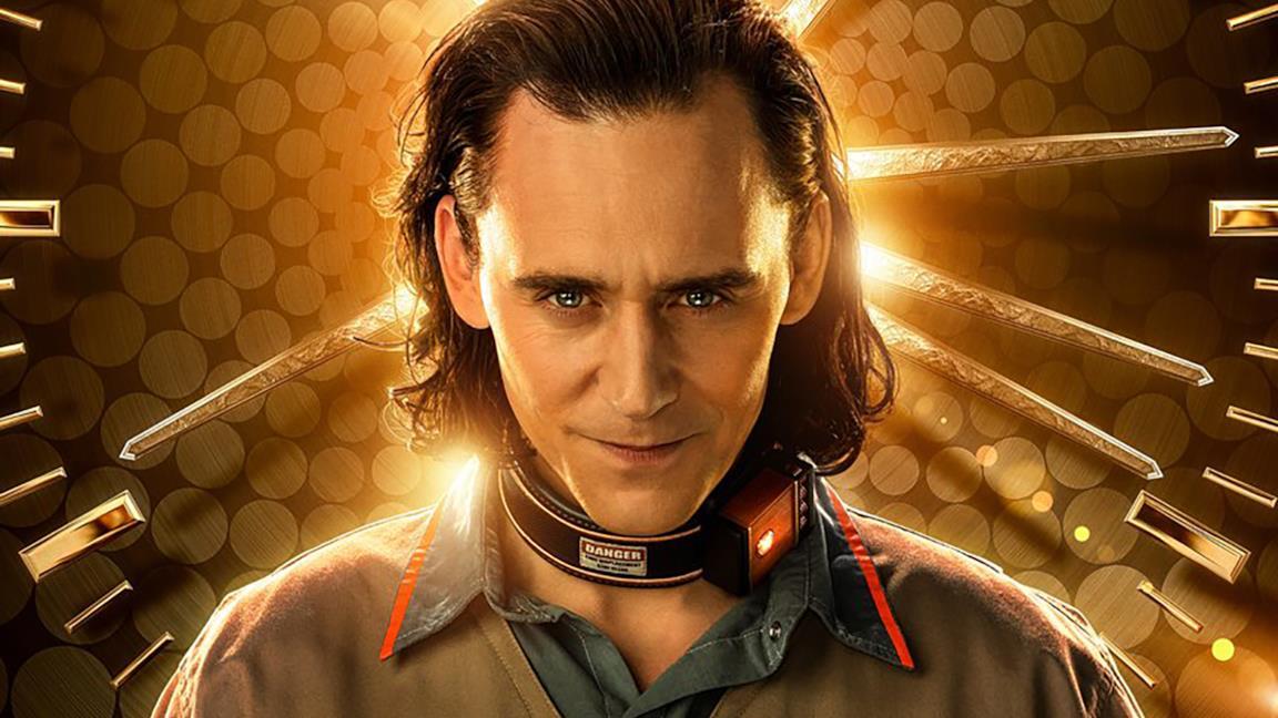 Loki in un poster promozionale della serie Disney+