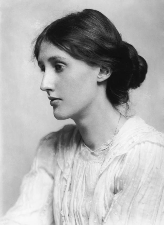 Virginia Woolf in primo piano
