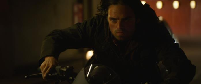 Sebastian Stan nei panni del Soldato d'Inverno in Captain America: Civil War