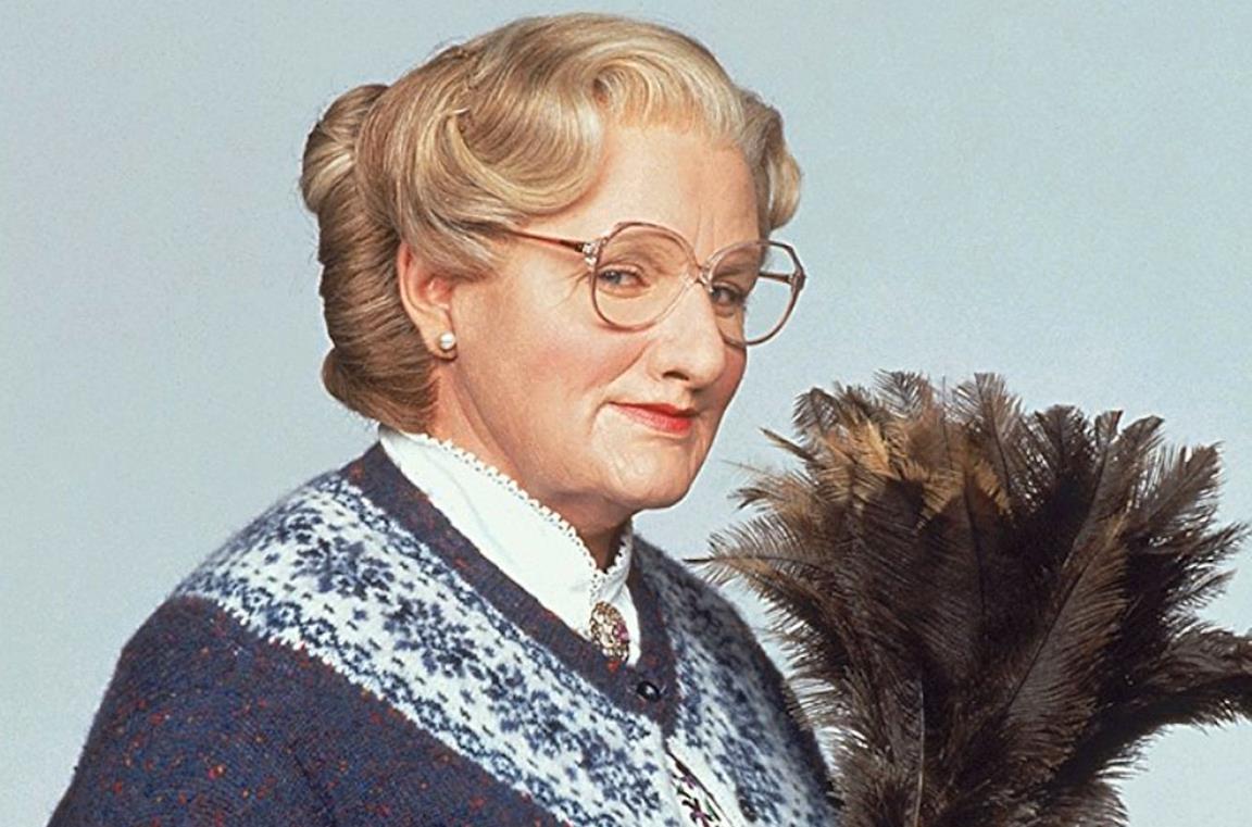 Robin Williams in Mrs Doubtfire