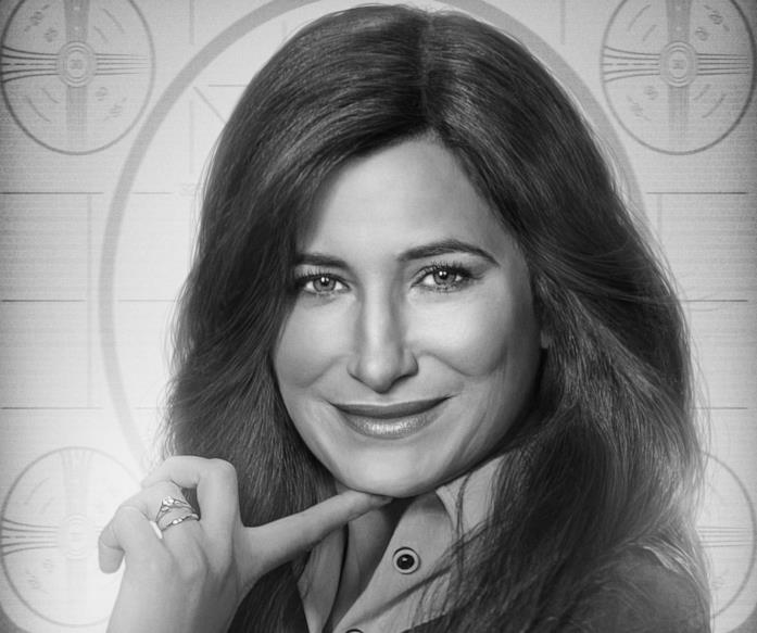 Kathryn Hahn come Agnes in WandaVision