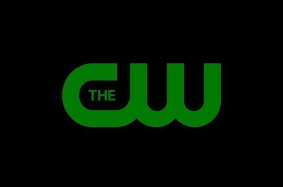 Il logo verde su sfondo nero di The CW