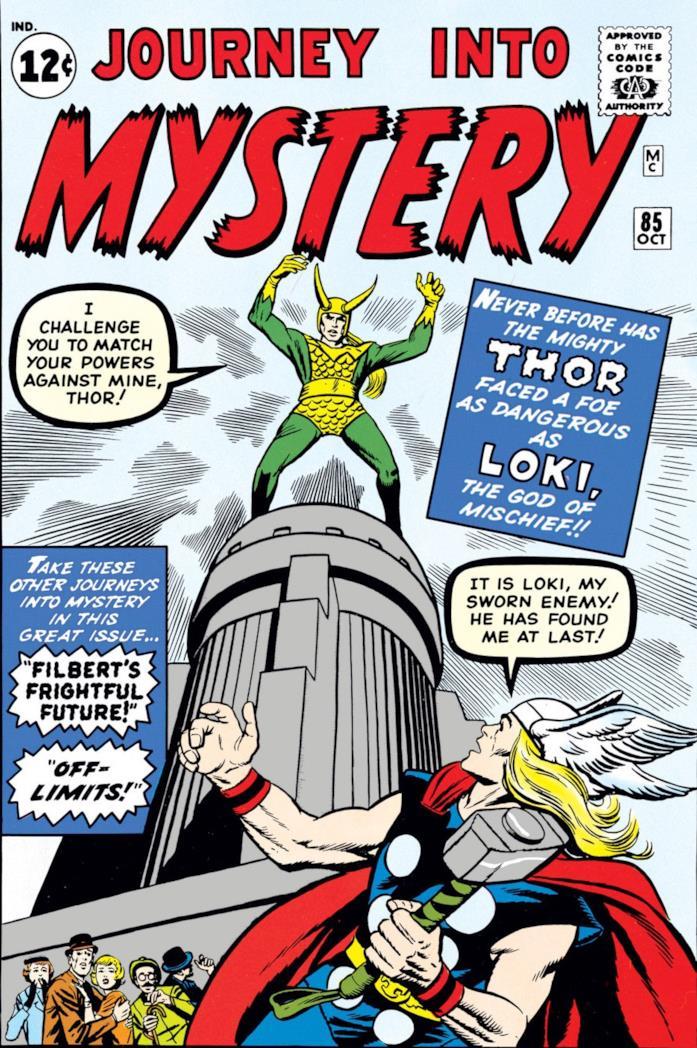 Loki e Thor nei fumetti degli anni '60