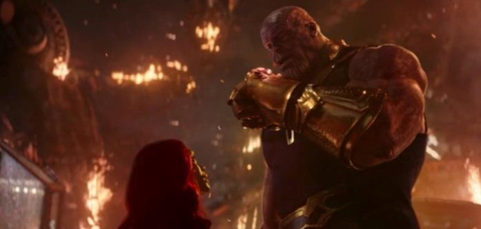 Thanos e Gamora