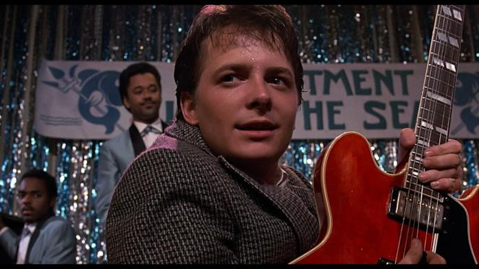 Marty McFly, interpretato da Michael J. Fox