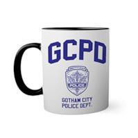 Gotham City Police Department Tazza