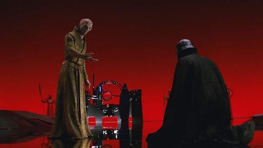 Immagine di Snoke e Ren