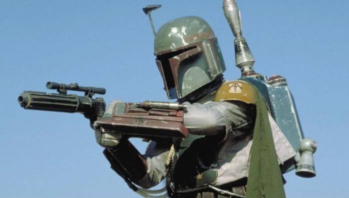 Boba Fett nel film Il ritorno dello Jedi