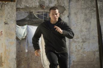 Matt Damon nei panni di Jason Bourne