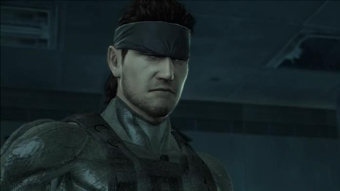 Solid Snake in Metal Gear Solid 4: Guns of the Patriots