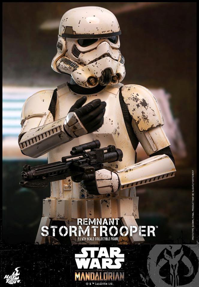 Stormtrooper, la nuova action figure di Hot Toys da The Mandalorian - mezzo busto