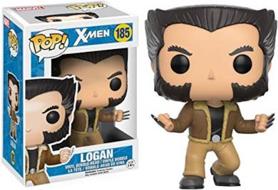 Funko- Pop Vinile Marvel X-Men Logan, 12458