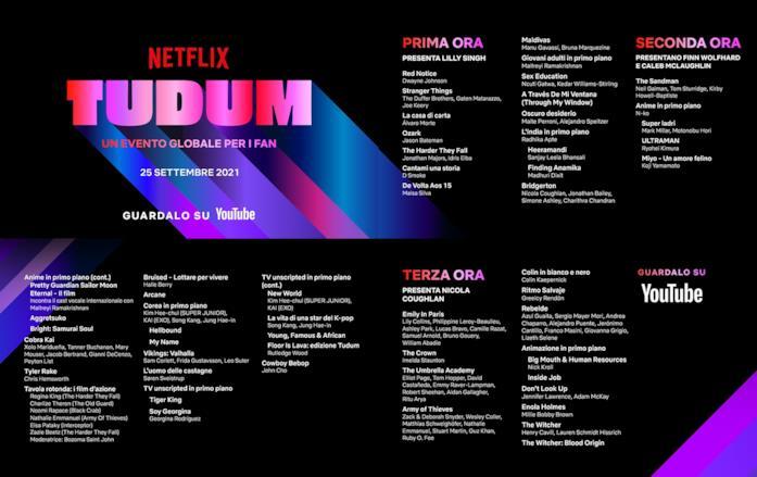 I titoli dell'evento Netflix TUDUM