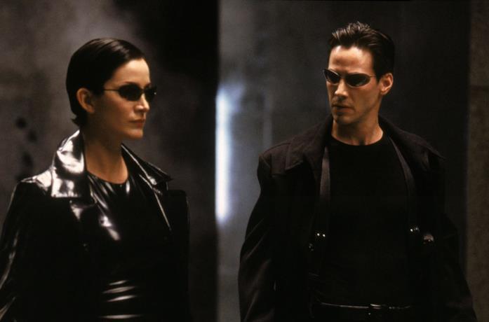 Neo e Trinity nel poster di Matrix Revolutions