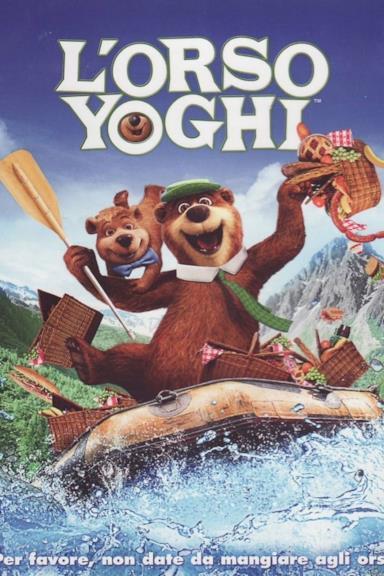 Poster L'orso Yoghi