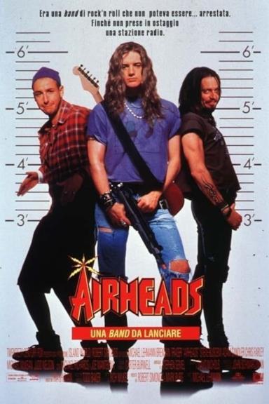 Poster Airheads - Una band da lanciare