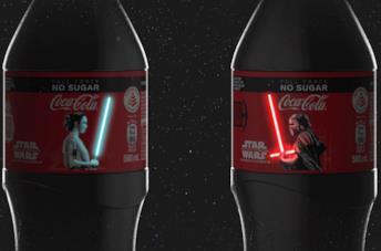 Le bottiglie di Coca-Cola in edizione limitata dedicate a Star Wars: L'Ascesa di Skywalker