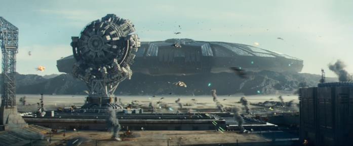 Una foto panoramica della base militare nel Nevada nota come Area 51