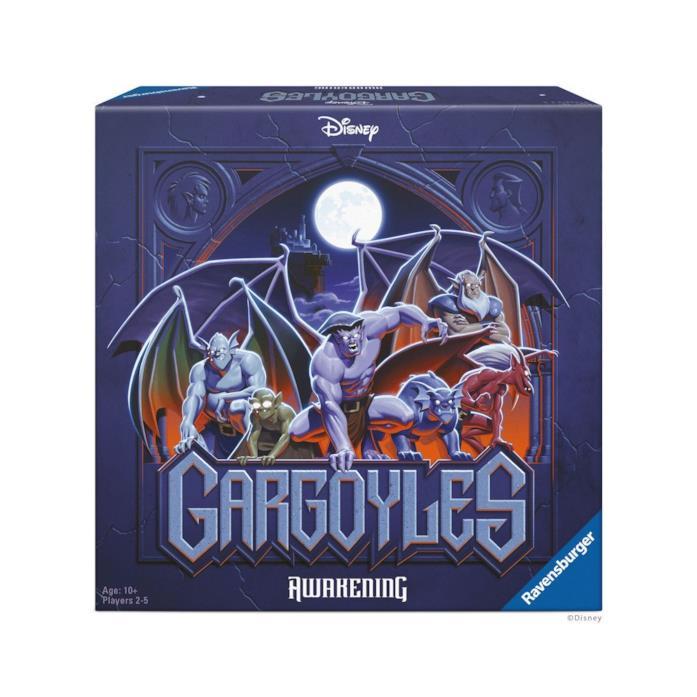 Il box con il gioco Gargoyles: Awakening
