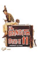 Poster Il bandito delle 11