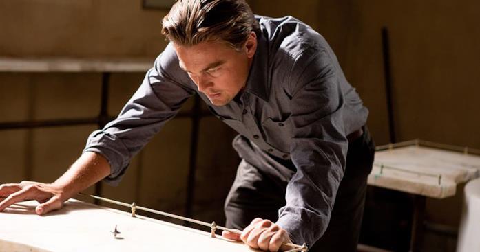 Leonardo DiCaprio in una scena del film