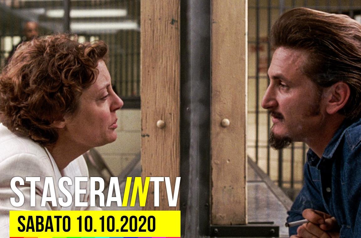 Film e programmi in TV - sabato 10 ottobre 2020