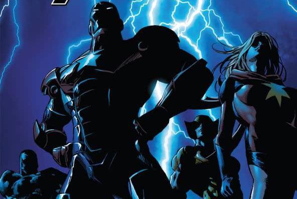 Cover di Dark Avengers #1