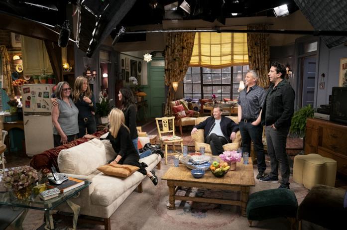 Il cast di Friends 25 anni dopo torna nel set dell'appartamento