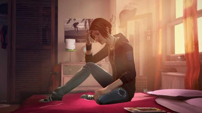 Chloe in una sequenza di Life is Strange: Before the Storm