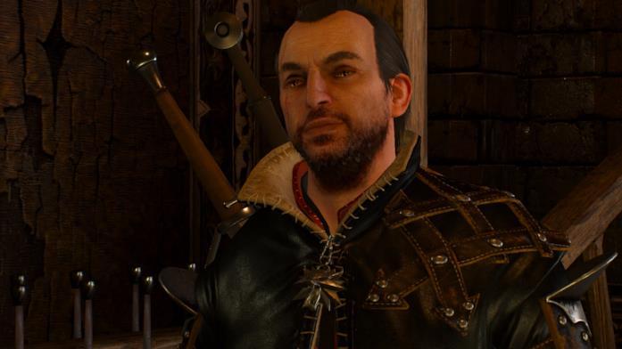 Lambert in The Witcher 3