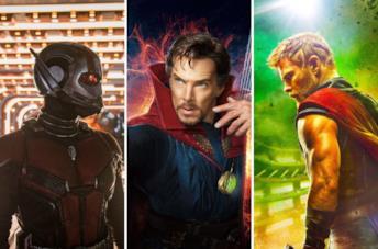 Ant-Man, Strange e Thor