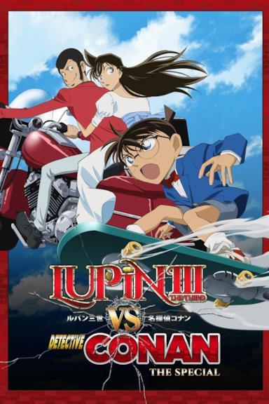 Poster Lupin III vs Detective Conan
