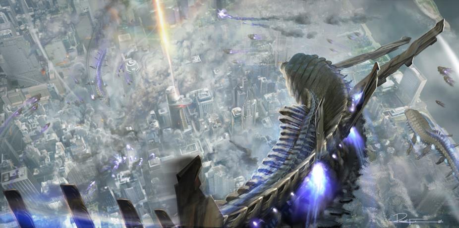 L'esercito inviato da Thanos continua a giungere su New York