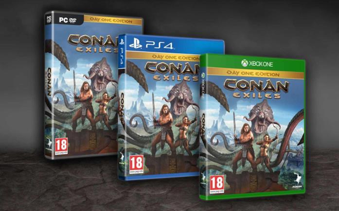 Conan Exiles è disponibile nei negozi