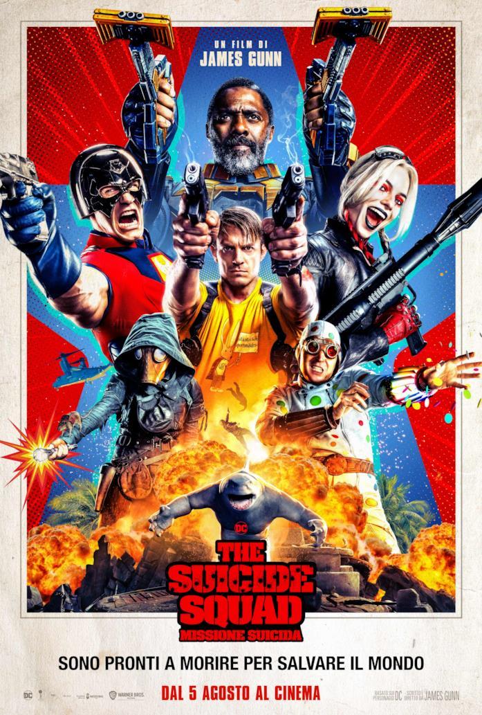 La locandina di The Suicide Squad: Missione Suicida