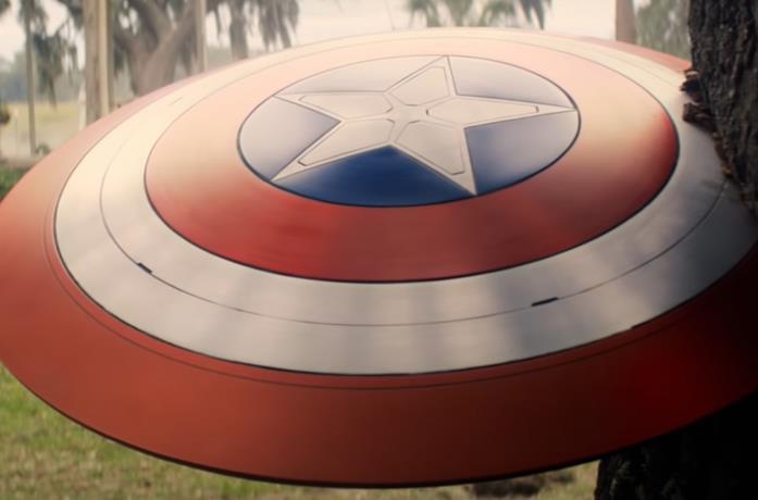Un'immagine dello scudo di Cap