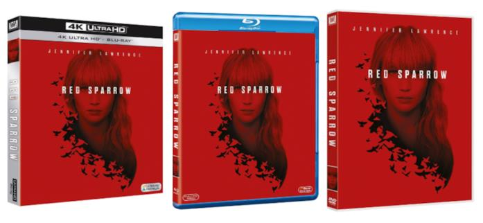 Red Sparrow in Home Video