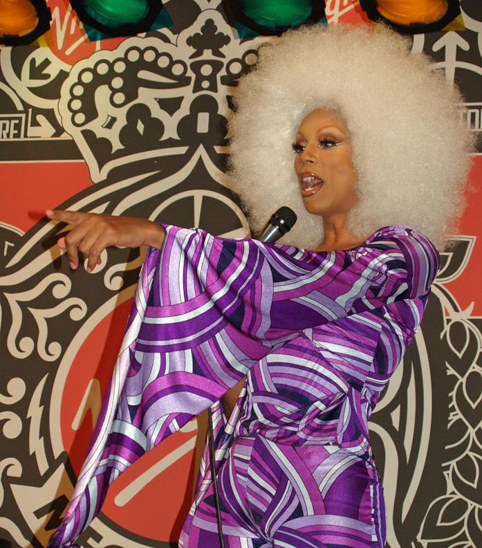 RuPaul in versione drag queen