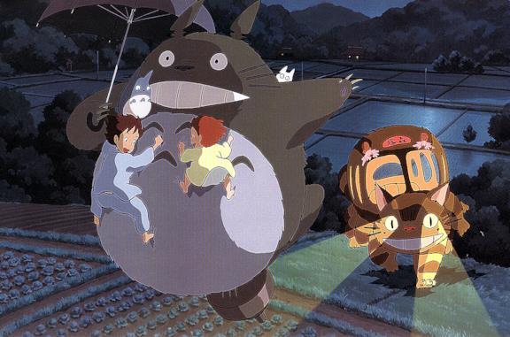 Totoro dello studio Ghibli