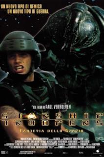 Poster Starship Troopers - Fanteria dello spazio