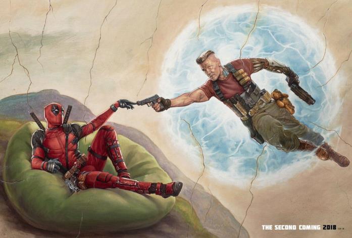 Un poster di Deadpool 2