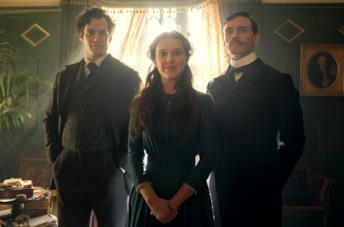 Immagine promozionale del film Netflix Enola Holmes