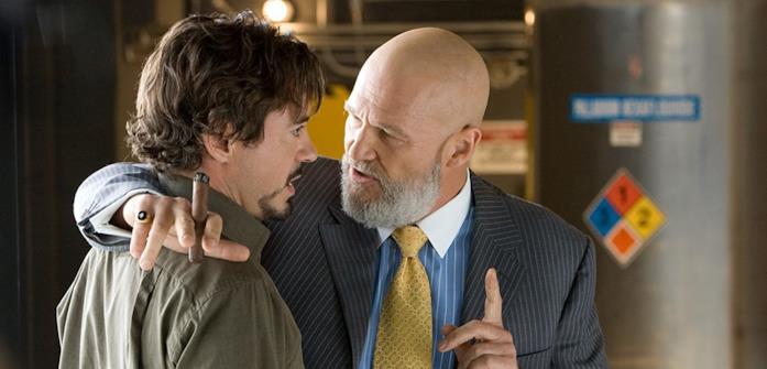 Jeff Bridges in una scena di Iron Man