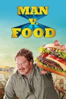 Poster Man vs. Food