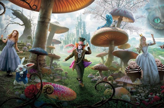 I personaggi di Alice in Wonderland
