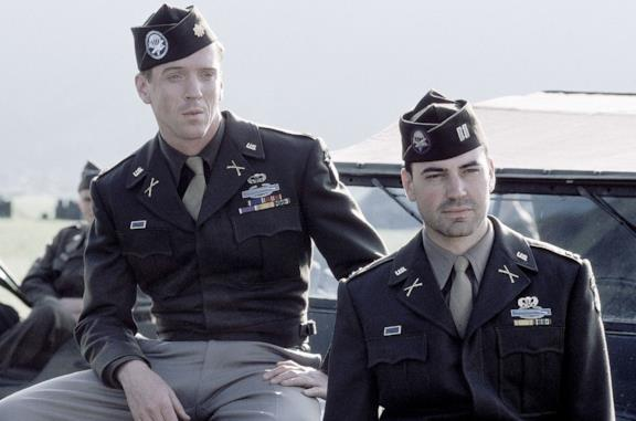 Due soldati americani dalla serie TV Band of Brothers