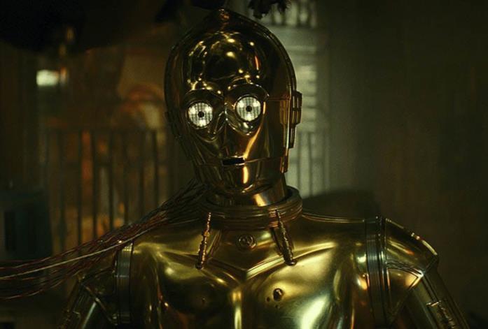 C- 3PO nella saga di Star Wars