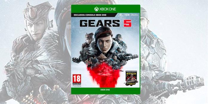 La boxart di Gears 5 per Xbox One
