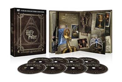 Harry Potter Magical Collection (8 Blu Ray) - Cofanetto con Copertina in Pelle, Edizione Digibook (32 pagine)